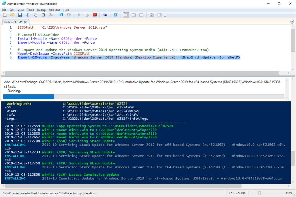 Building the Perfect Windows Server 2019 Reference Image