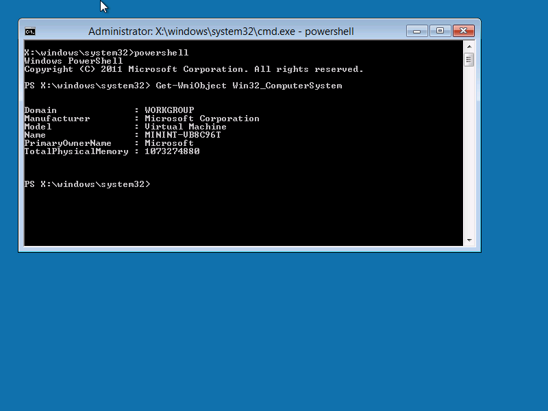 Windows 8 Preview – Howto – Creating a WinPE boot image with