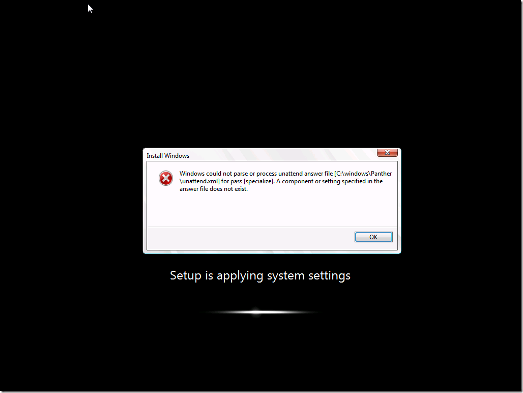 Error during deployment with IE 10