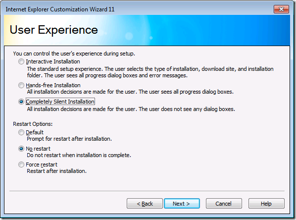 Adding Internet Explorer 11 to your Windows 7 SP1 reference