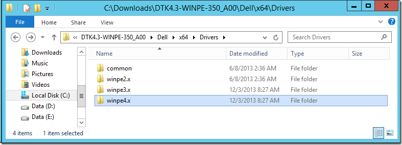Finding WinPE drivers for Dell Servers – Deployment Research
