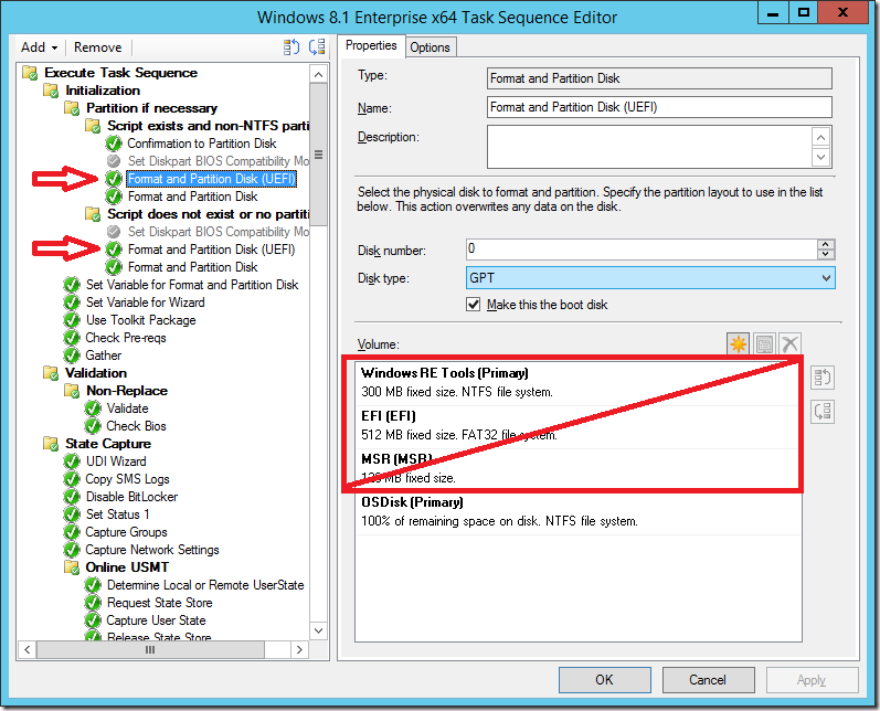 Deploying UEFI machines with ConfigMgr 2012 R2 – Deployment