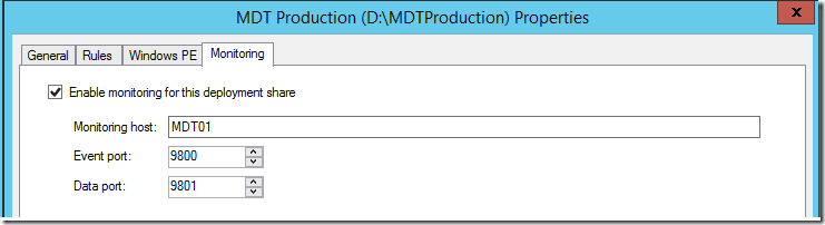 Configuring MDT Monitoring – Behind the scenes – Deployment