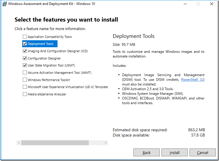 Building A Windows 10 V1809 Reference Image Using Microsoft Deployment Toolkit Mdt Deployment Research