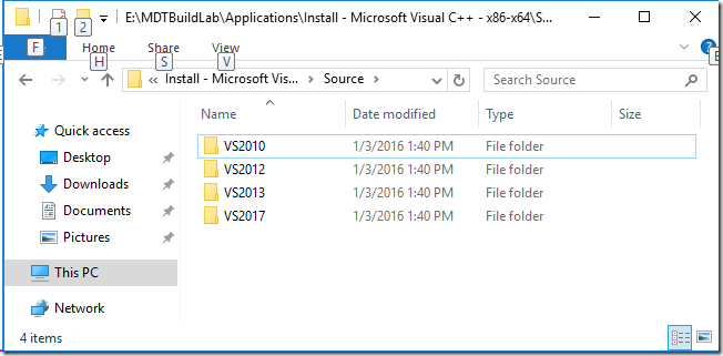 Building a Windows 10 v1809 reference image using Microsoft