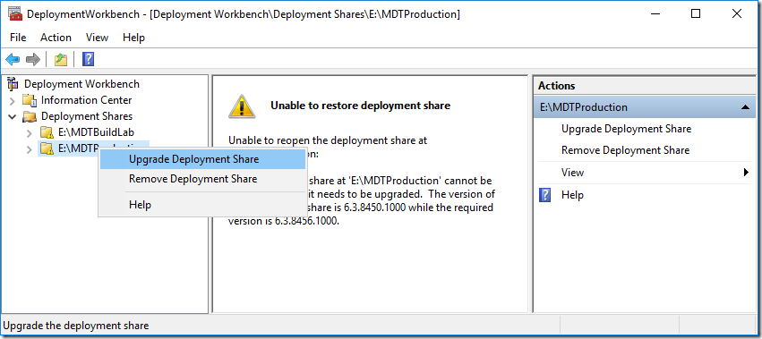 A Geeks Guide for upgrading to MDT 8456 - Deployment Research