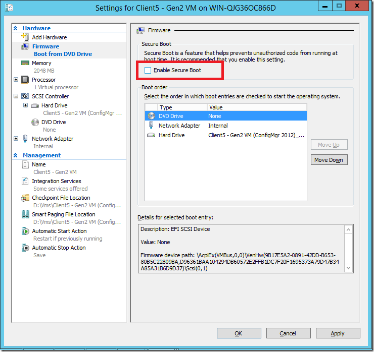 Fix for installing Windows Technical Preview via PXE on Gen
