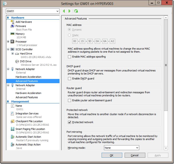 Windows 2012 R2 Install
