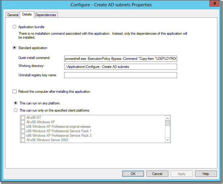 Using PowerShell scripts with MDT – Deployment Research