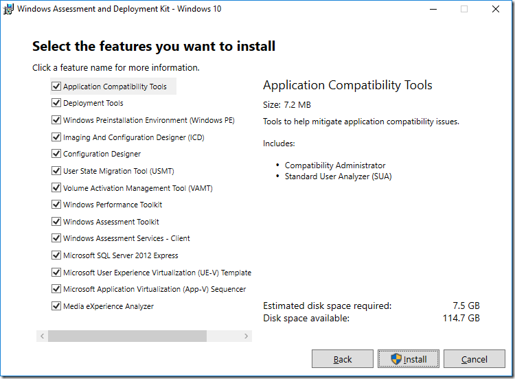 Inside Windows ADK 10 v1607 – Deployment Research