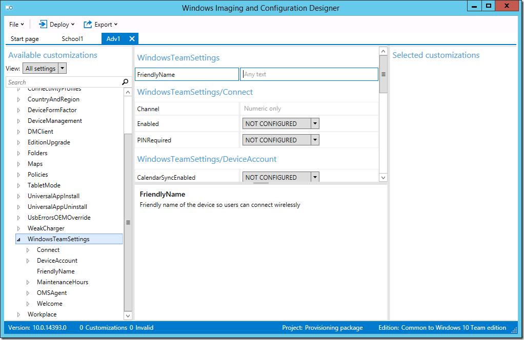 Inside Windows ADK 10 v1607 – Deployment Research