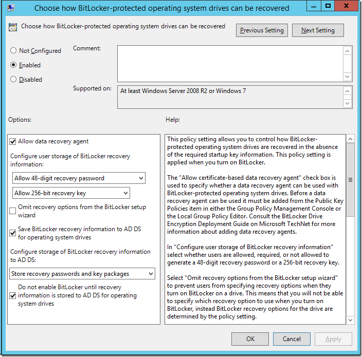 Windows 10 and Windows Server 2016 ADMX Templates and