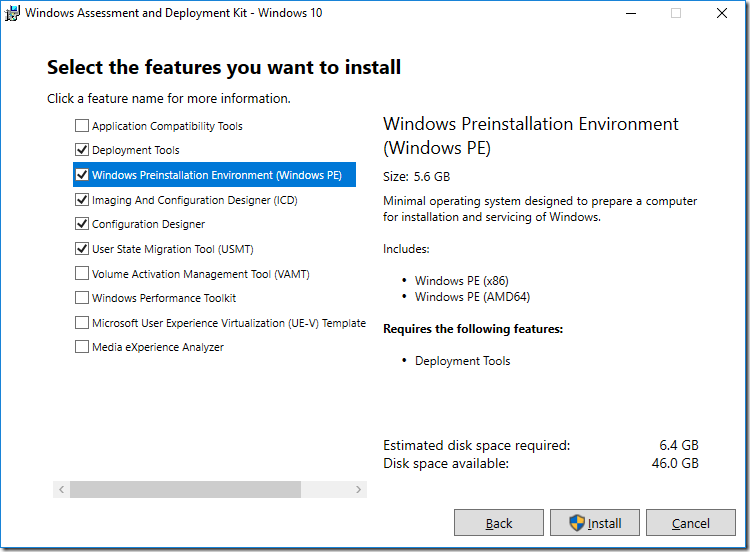 Building a Windows 10 v1709 reference image using MDT