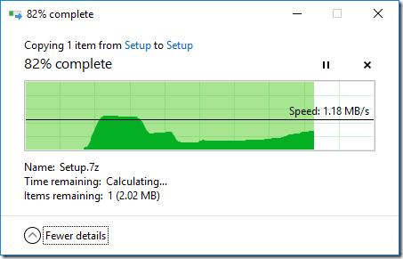 Setup Low Extra Delay Background Transport (LEDBAT) for
