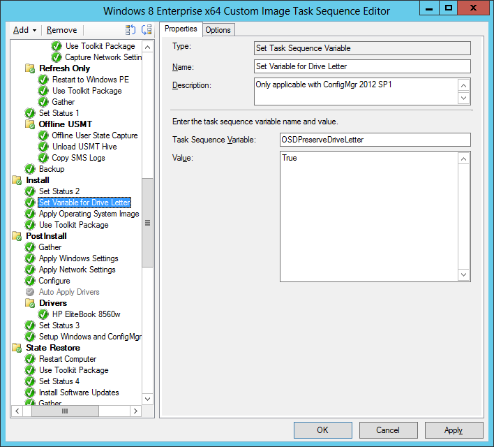Uber-tips for the MDT 2012 Update 1 Task Sequence template